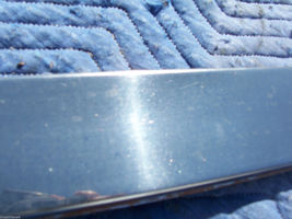 1990 BROUGHAM LEFT REAR DOOR TRIM MOLDING DENTED OEM USED CADILLAC 1991 1992 image 6