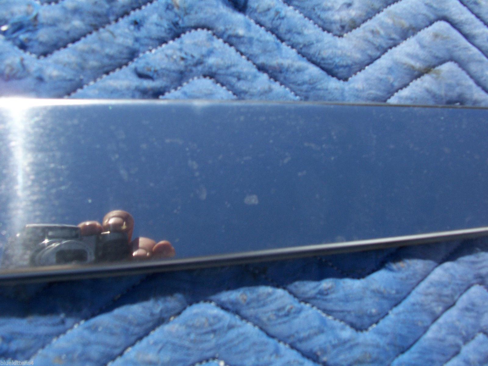 1990 BROUGHAM RIGHT REAR DOOR TRIM MOLDING OEM USED ORIG CADILLAC 1991 1992 image 5
