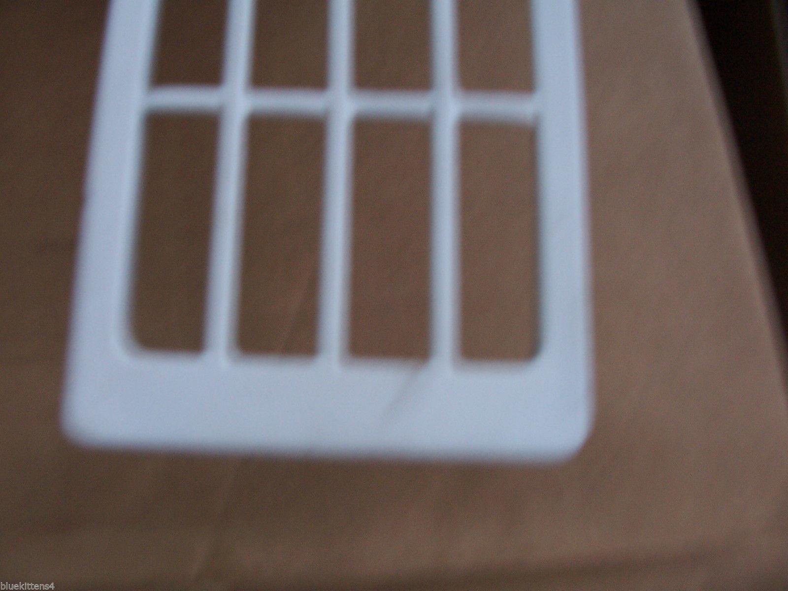 1972 OLDS 98 TRIM BEZEL ONLY SIDE MARKER SIGNAL LIGHT TRIM BEZEL HAS DENT 1973 image 5