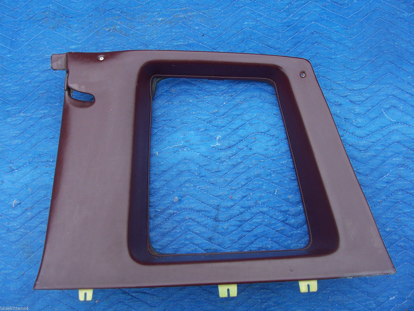 1977 COUPE DEVILLE RIGHT OPERA WINDOW TRIM PANEL OEM USED CADILLAC PART