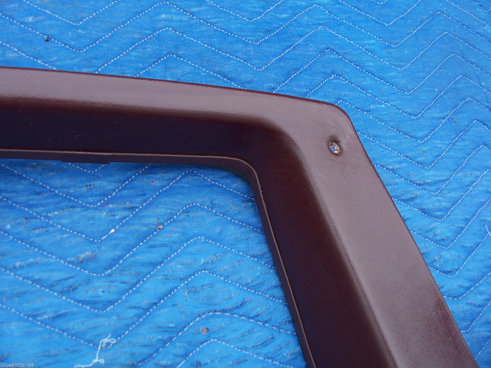 1977 COUPE DEVILLE RIGHT OPERA WINDOW TRIM PANEL OEM USED CADILLAC PART image 5
