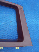 1977 COUPE DEVILLE RIGHT OPERA WINDOW TRIM PANEL OEM USED CADILLAC PART image 7