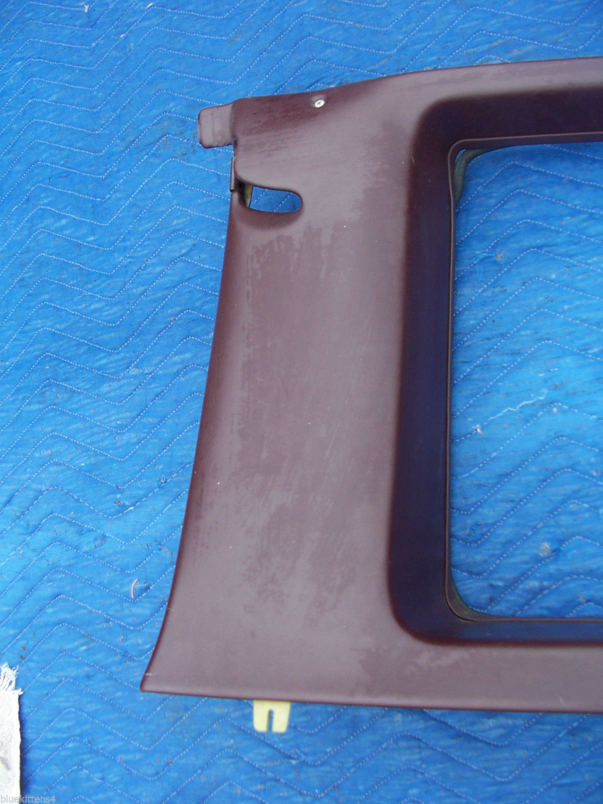 1977 COUPE DEVILLE RIGHT OPERA WINDOW TRIM PANEL OEM USED CADILLAC PART image 6