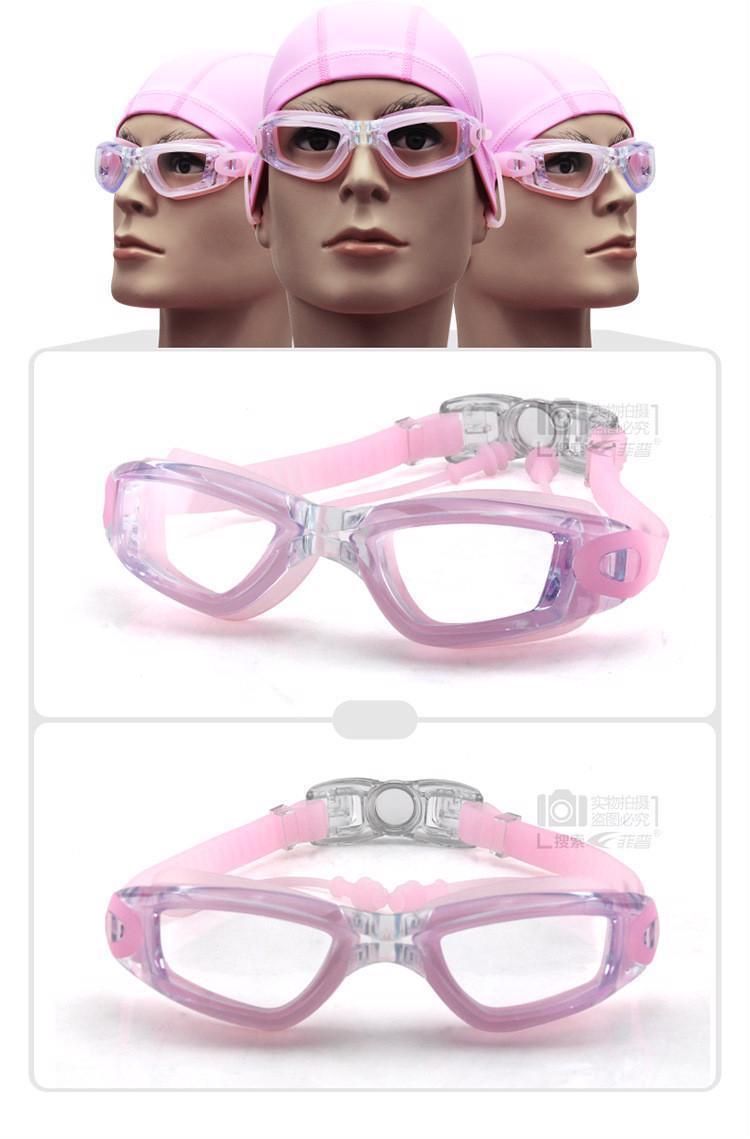 62af02a5bd Men Women Swimming Goggles Anti Fog UV HD Protection Optical Waterproof  Swimwear