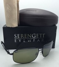 7ef5bd9fb561 SERENGETI PHOTOCHROMIC POLARIZED Sunglasses Sassari 7664 Black Frames 55...  - $212.46