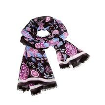 "NWT Vera  Bradley "" Alpine Floral  ""  Soft Fringe Scarf Hijab 72""X26""   - $23.99"