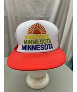 trucker hat baseball cap Vintage Snapback Mesh Minnesota 3 Color Sun  Ra... - $49.99