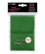 Ultra-Pro Sleeves: New Standard Green Deck Protectors (100) - $5.39