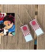 Kimetsu no Yaiba Tanjirou Kamado Earrings Cosplay Buy - $20.00