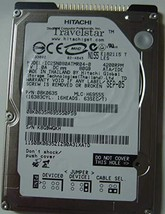 "Hitachi Travelstar IC25N080ATMR04-0 80GB 2.5"" 9.5MM IDE 44PIN Hard Drive"
