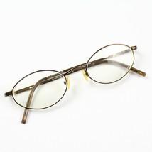 Ralph Lauren RL 646 7FS Brown Oval Italy Vintage RX Eyeglasses Frames 49 19 135 - $39.59