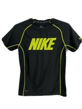 Nike Dri-Fit youth boys t-shirt black short sleeve size M - $14.74