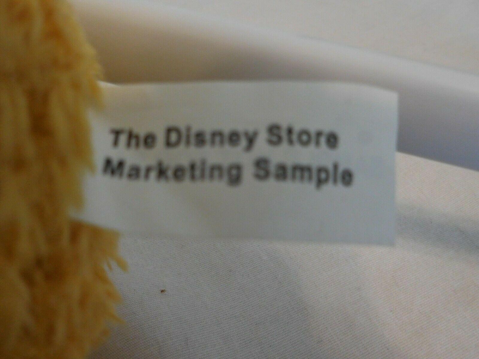 "Disney Store Sample 16"" Plush Fozzie Bear Stuffed Animal Sesame Street Muppet Ra"