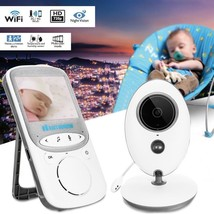 Wireless Nightvision Baby Monitor 2.4 Inch Digital LCD Audio Video Secur... - $60.39