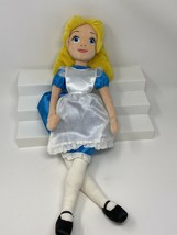 "Disney Store Exclusive Alice In Wonderland 20"" Plush Toy Doll Retired - $47.21"