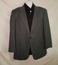 Giorgio Armani Italy Saks Fifth Virgin Wool Mohair Mens Sports Coat Blaz... - $69.25
