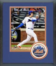 Asdrubal Cabrera 2018 New York Mets -11x14 Team Logo Matted/Framed Photo - $43.95