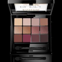 EVELINE Eyeshadow Palette All In One BURN Warm shades INTENSELY PIGMENTE... - $16.48