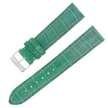 Breitling 20-18mm Genuine Alligator Leather Green Ladies Watch Band w. B... - $236.55