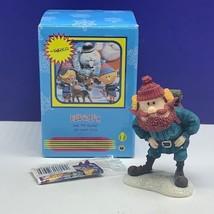 Rudolph Reindeer Enesco mini figurine Island Misfit toys 857939 Yukon Cornelius - $44.55