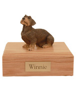 Wire Haired Dachshund Pet Funeral Cremation Urn Avail in 3 Diff Colors &... - $169.99+