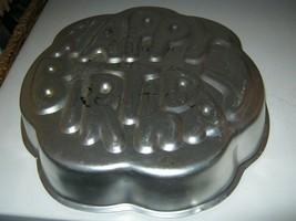 Wilton Happy Birthday Cake Pan (502-2405 1980) - $14.39