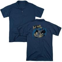 Batman - Through The Night (Back Print) Mens Regular Fit Polo - $24.99+