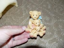"Cherished Teddies Figurine-Theadore,Samantha & Tyler ""Friends Come In Al... - $50.00"
