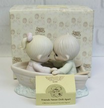 Friends Never Drift Apart 100250 Porcelain Precious Moments Original Box... - $34.99