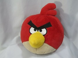 "7"" 9.5"" Angry Bird Plush Red Toy NO SOUND Commonwealth Rovio - $22.76"