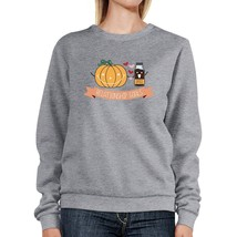Pumpkin Spice Relationship Goals Grey SweatShirt - $20.99+