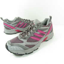 ADIDAS Duramo TR Womens Size 9.5 Gray Pink Trail Running Shoes G18688 - $26.99