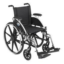 Drive Medical Viper Wheelchair With Desk Arms and Footrest 14'' - $317.50