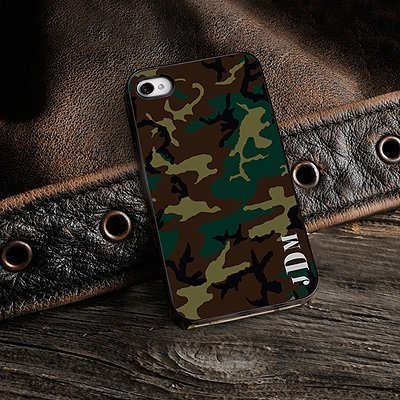 Primary image for Camouflage iPhone Case with Black Trim