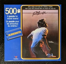 Blockbuster Footloose Movie Poster 500-Piece Jigsaw Puzzle 11x14 SAME-DA... - $5.74