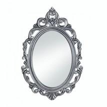Silver Royal Crown Wall Mirror - $64.04
