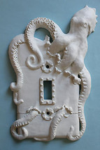 STEAMPUNK OCTOPUS KRAKEN light switch plate wall cover toggle outlet decor  - $19.99