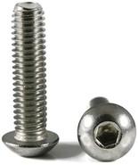 Button Head Socket Cap Screw Stainless Steel Screws UNC 10-24 x 1-1/4 Pa... - $70.12