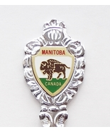 Collector Souvenir Spoon Canada Manitoba Clear Lake Wasagaming Coat of Arms - $6.99