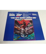 The Spy Who Loved Me James Bond ORIGINAL Vintage 1977 Vinyl LP Record Album - $18.49