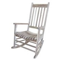 Outdoor Rocking Chair Solid Wood Unfinished Comfort Versatile Functional... - $115.19
