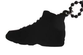 Good Wood NYC Tarheel Carolina Blue 9's Sneaker Necklace White/blue Shoes IX New image 2