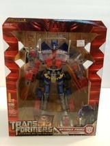 M12 Hasbro Transformers 2 Revenge of Fallen - Leader Optimus Prime Actio... - $103.94