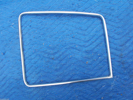 1977 COUPE DEVILLE RIGHT REAR OPERA WINDOW  EDGE TRIM OEM USED CADILLAC PART image 1