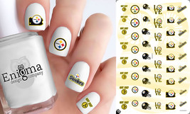 Pittsburgh Steelers Nail Decals (Set of 50) - $4.95