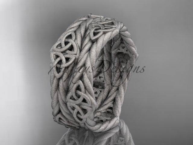 Tic knot engagement rings  rope ring  diamond engagement ring  forever brilliant moissanite  m 1