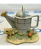 "Lowell Davis ""Garden Toad"" Figurine 1991 Schmid Water 92055 Fox Fire Far... - $79.18"