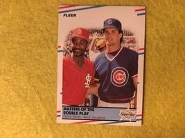 Baseball Trading Card Fleer 1988 #628 Star Specials Smith Sandberg (SS65) - $4.17
