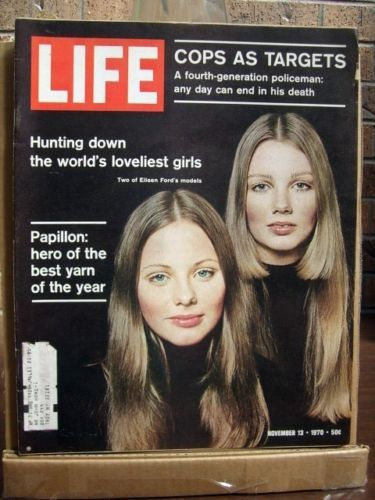 Primary image for Life Magazine, Novenber 13 1970, Papillon, Eileen Ford