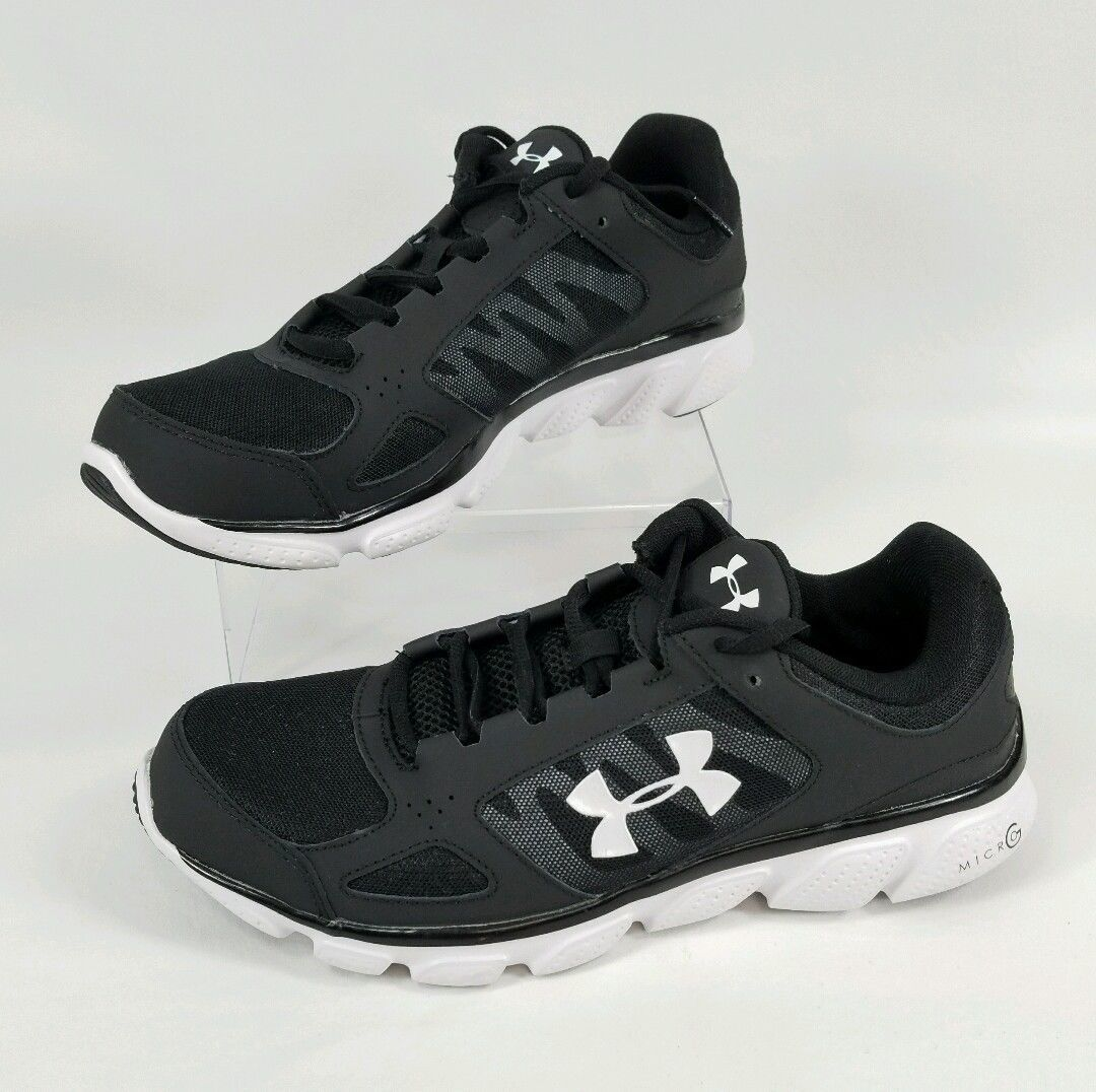 Under Armour Mens UA Micro G Assert V Running Shoes  Size 95 1252295